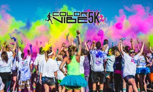 Color Vibe 5K Run 2016: Groupon Exclusive - Color Vibe 5K Run 2016 Early Bird Ticket: Choice of Date and Venue (Up to 48% Off)
