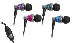 Two Pairs Of Jlab Pro Tangle-resistant Earbuds With Mic And Controls