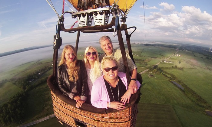 Adirondack Balloon Flights - Queensbury: $299 for a Hot-Air Balloon Ride for Two with Digital Pictures from Adirondack Balloon Flights ($500 Value)