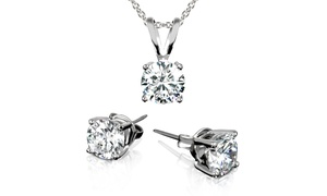 Studs and Necklace Set with Swarovski Elements at Studs and Necklace Set with Swarovski Elements, plus 6.0% Cash Back from Ebates.