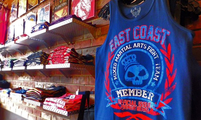 East Coast MMA Fight Shop - Rockville Centre: Up to 50% Off Athletic Clothing — East Coast MMA Fight Shop