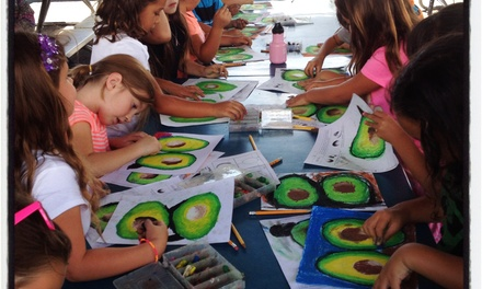 Up to 50% Off 3-week Art Camp for Kids at Epic Kids