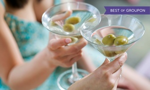 Martini Grill - Wood Ridge: Italian Dinner with Appetizers and Martinis for Two or Four at Martini Grill (Up to 45% Off)