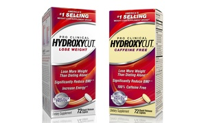 Buy 1 Get 1 Free: Hydroxycut Pro Clinical Diet Supplements