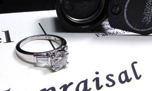 MJ Gabel: $50 for an Insurance Appraisal for Diamond Jewelry at MJ Gabel ($100 Value)