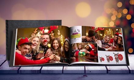 Fotolibro personalizzato con copertina in pelle disponibile in 2 formati da 1,99 € (fino a 92% di sconto)