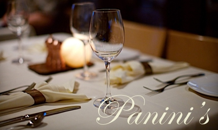 Panini's Trattoria - Center City East: $20 for $40 Worth of Italian Dinner Fare or $10 for $20 Worth of Italian Lunch Fare at Panini's Trattoria
