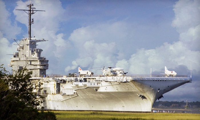 Patriots Point Naval & Maritime Museum - Multiple Locations: $18 for Patriots Point Naval & Maritime Museum Visit for Two in Mt. Pleasant (Up to $36 Value)