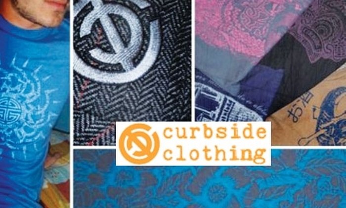 Curbside Clothing - Omaha: $15 for $30 Worth of Creative Designer Threads for Men and Women from Curbside Clothing