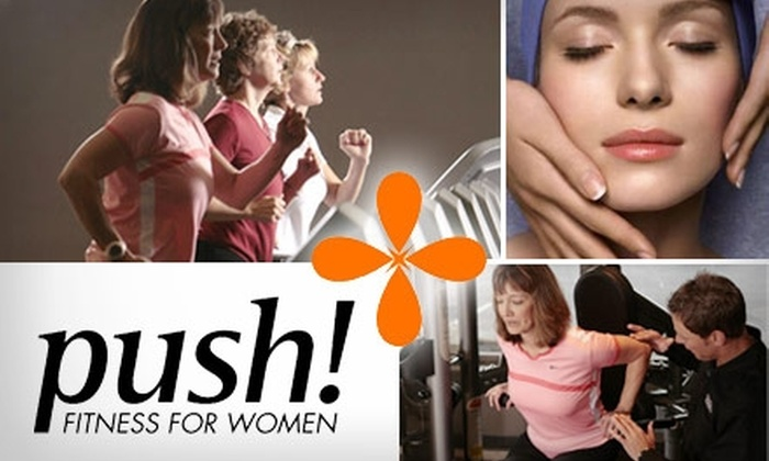 Push Fitness for Women - Washington: $29 for a Personal-Training Session, Free 14-Day Membership, and Cleansing Facial at Push Fitness for Women ($110 Value)
