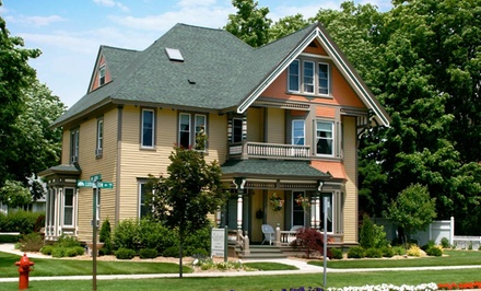 1-Night Stay with Breakfast at Ludington House Bed and Breakfast in Ludington, MI