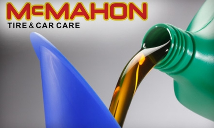 McMahon Tire & Car Care - Fort Wayne: $13 for a Standard Oil Change from McMahon Tire & Car Care ($29.81 Value)