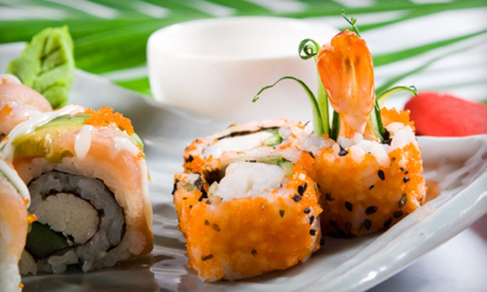 Toshi's Café - Greensboro: Carryout Edamame and Sushi Rolls for Two, a Group, or a Party at Toshi's Cafe in Greensboro