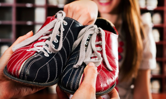 Harlem Lanes - Harlem: Two Games of Bowling and Shoe Rental for One, Two, or Four, or Private Party at Harlem Lanes