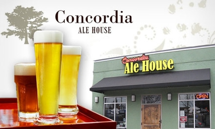 Concordia Ale House - Concordia: $12 for $25 Worth of Brews & Bites at Concordia Ale House