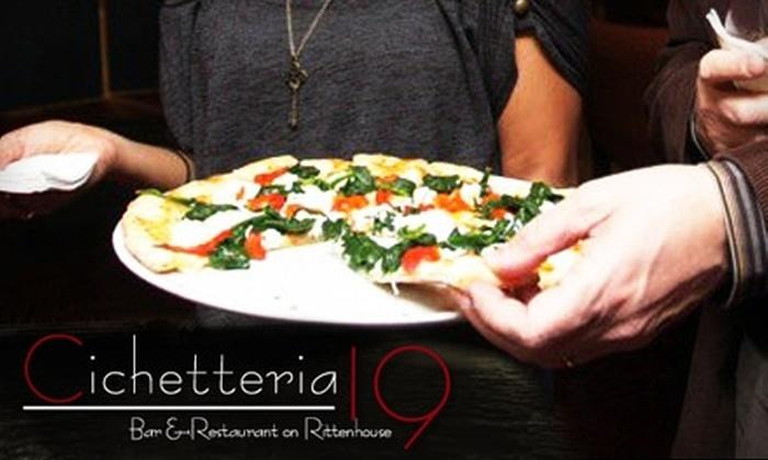 Cichetteria 19 - Rittenhouse Square: $10 for $25 Worth of Venetian Fare at Cichetteria 19