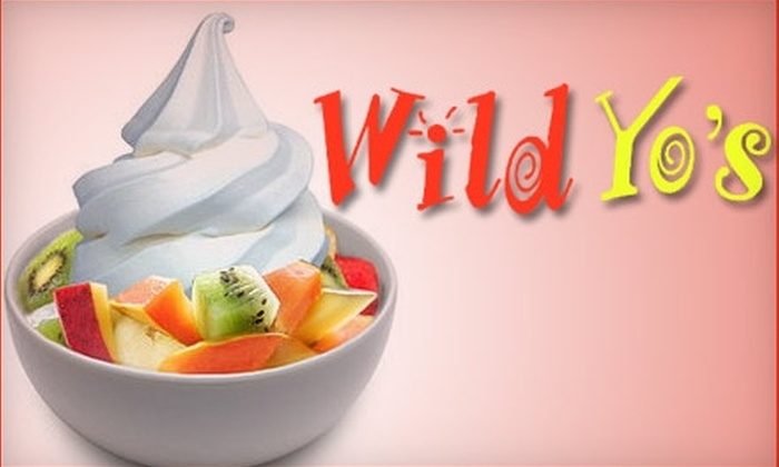 Wild Yo's Frozen Yogurt - Mandarin: $4 for $10 Worth of Frozen Treats at Wild Yo's Frozen Yogurt