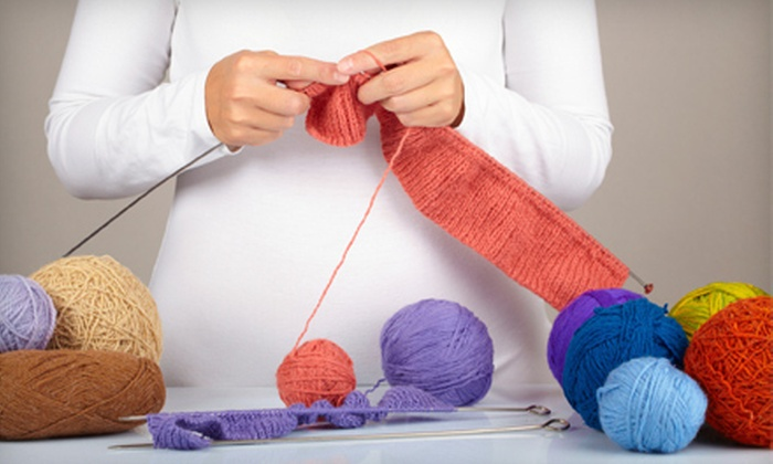 Lovelyarns - Hampden: $29 for Two Learn to Knit Classes at Lovelyarns ($60 Value)