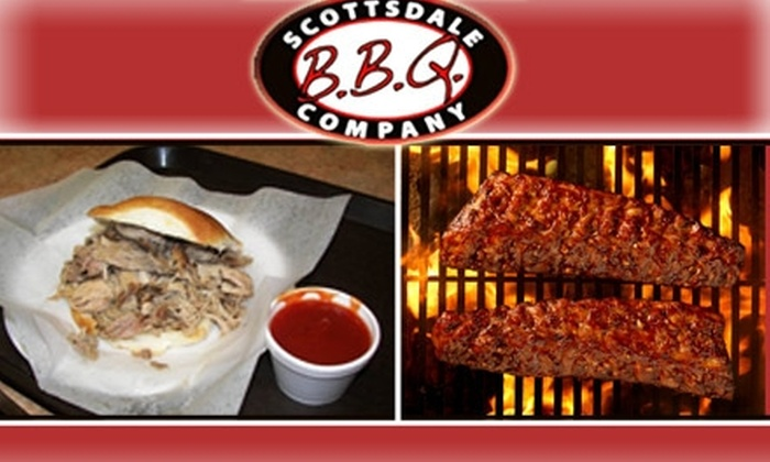 Scottsdale BBQ Company  - South Scottsdale: $15 for $30 Worth of Barbecue & More at Scottsdale BBQ Co.