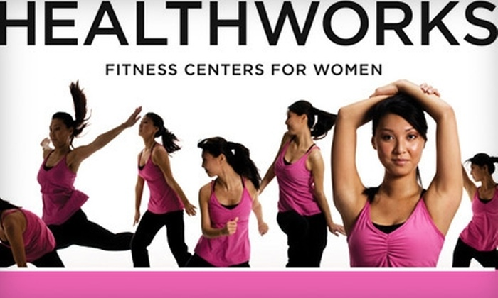 Healthworks Fitness Centers for Women - Multiple Locations: $29 for a One-Month Membership or a 55-Minute Focus Training Session at Healthworks Fitness Centers for Women (Up to $300 Value)
