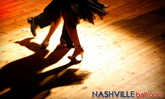 Nashville Ballroom - Multiple Locations: $45 for Two Private and Two Group Dance Classes at Nashville Ballroom ($302 Value)