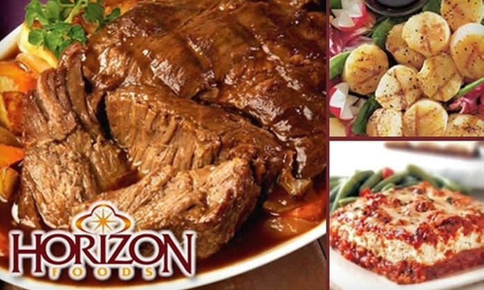 Horizon Foods - San Diego: $49 for $100 Worth of Portion-Controlled Entrees with Home Delivery from Horizon Foods