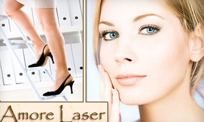 Amore Laser - Allandale: $129 for Laser Hair Removal and Cosmetic Services at Amoré Laser (Up to $398 Value)