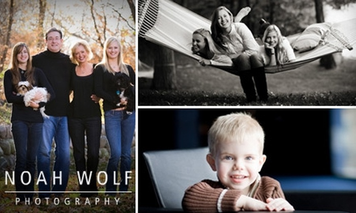 Noah Wolf Photography - Central: $65 for Two Professional Photography Packages from Noah Wolf Photography ($1,070 Value)