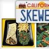 Half Off at California Skewers