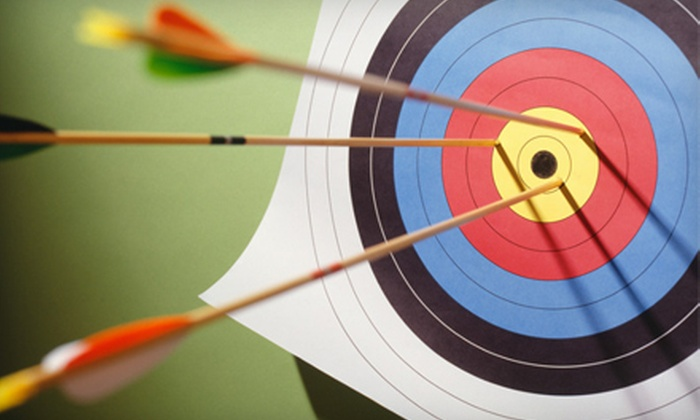 Heritage Outdoors - Fletcher: $20 for a One-Hour Archery Lesson for Two at Heritage Outdoors in Fletcher ($40 Value)