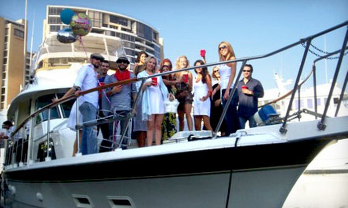 Odyssey Yacht Charter - Coastal San Pedro: $1,199 for a 3-Hour Private Harbor Cruise or 5-Hour Fishing Trip from Odyssey Yacht Charter in San Pedro (Up to $2,670 Value)