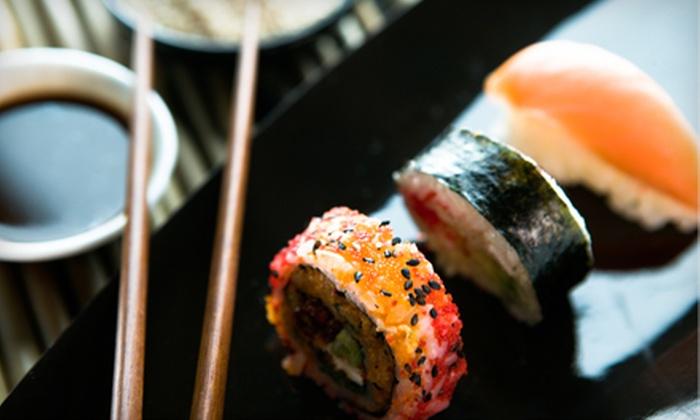 Koto Sushi Lounge - Southwest Calgary: $25 for $50 Worth of Sushi, Asian Fare, and Drinks at Koto Sushi Lounge