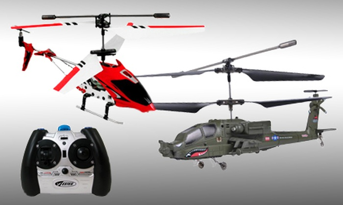 Remote Controlled Helicopter: $29 for a Remote-Controlled SF161 Helicopter or R73-OPS Attack Helicopter ($49.99 Value)