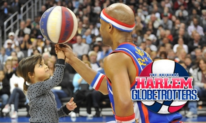Harlem Globetrotters - RP Sports Compex: One Ticket to a Harlem Globetrotters Game on Monday, January 17, at 2 p.m. Choose from Three Ticket Options.