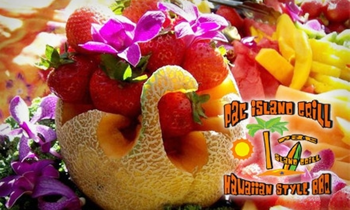 Pac Island Grill - Federal Way: $10 for $25 Worth of Hawaiian-Style Barbecue and More at Pac Island Grill