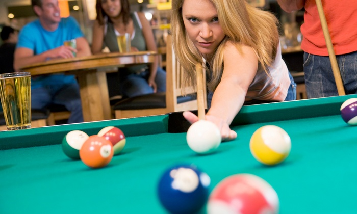 Rockford Billiard Cafe - Signal Hill: One or Two Hours of Billiards and Nonalcoholic Drinks for Four at Rockford Billiard Cafe (50% Off)