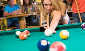 Rockford Billiard Cafe: One or Two Hours of Billiards and Nonalcoholic Drinks for Four at Rockford Billiard Cafe (50% Off)