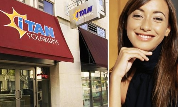 iTAN Solariums - San Diego: $49 for One Month of Level 4 Tanning at iTAN Solariums