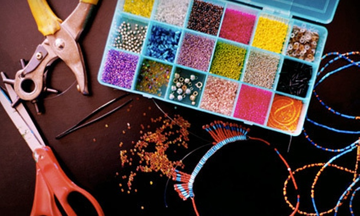Bead Creative - Amherst: $20 for Two-Hour Jewelry-Making Workshop for Two with $30 Worth of Materials at Bead Creative ($40 Value)