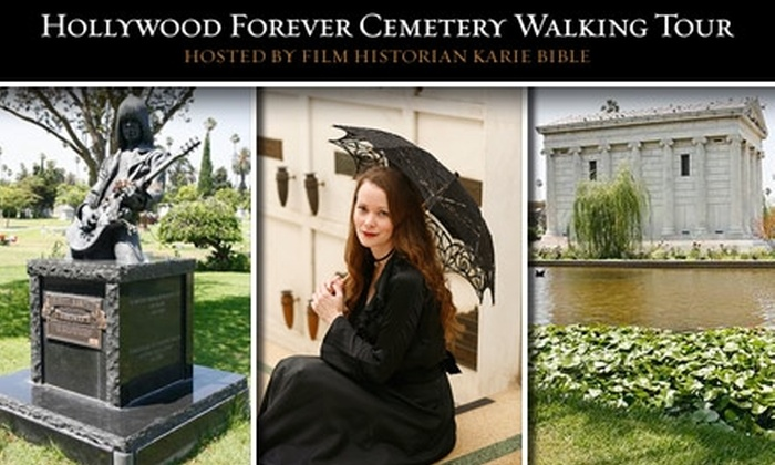 Hollywood Forever Cemetery Tour - West Hollywood: $6 for a Two-Hour Hollywood Forever Cemetery Walking Tour ($12 Value)