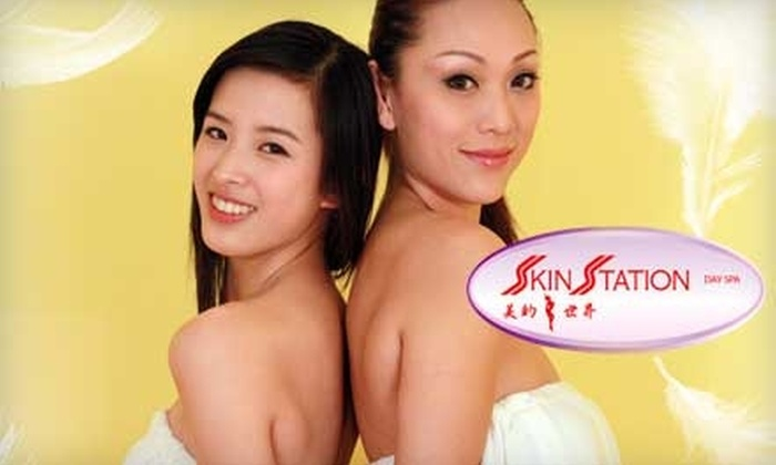 Skin Station Day Spa - Multiple Locations: $35 for Microdermabrasion Skin-Peel Treatment at Skin Station Day Spa