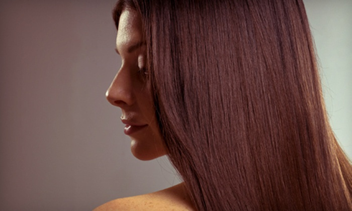 Cashmere Salon and Day Spa - Denver: Haircut with Deep Conditioning or Haircut with Color or Highlights at Cashmere Salon and Day Spa (Up to 59% Off)