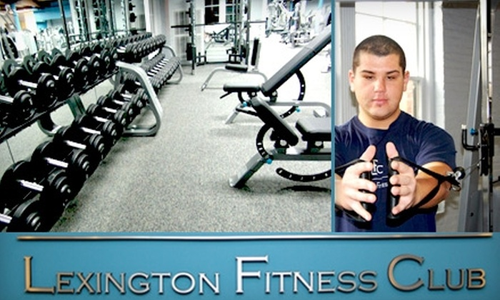 Lexington Fitness Club - Lexington: $19 for a One-Month Membership and One-On-One Fitness Consultation at Lexington Fitness Club