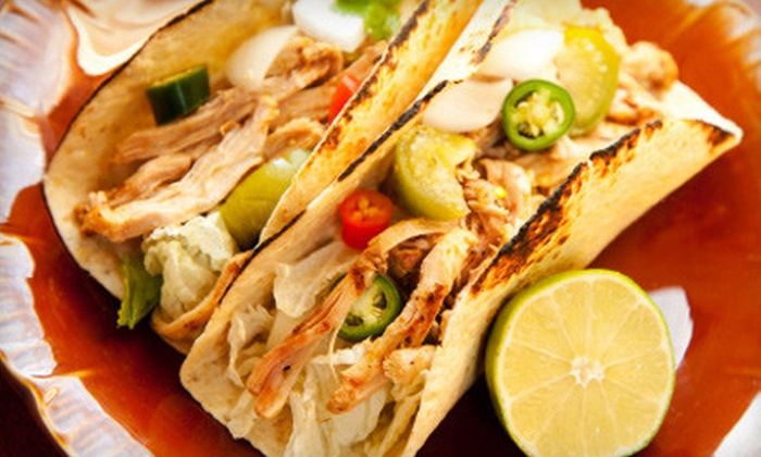 Tacos Mexico - East Norwalk: Mexican Cuisine or Meal for Two or Four at Tacos Mexico in Norwalk (Up to 57% Off)