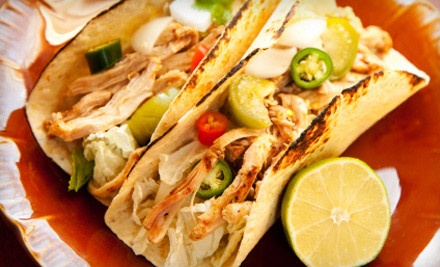 Lunch or Dinner for 2 - Tacos Mexico in Norwalk