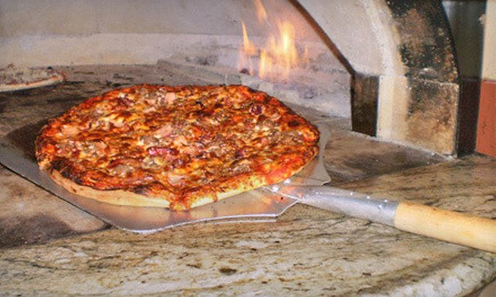 Elite Pizzeria - Canton: Two Sandwich Combos or $6 for $12 Worth of Brick-Oven Pizza and Mediterranean Food at Elite Pizzeria
