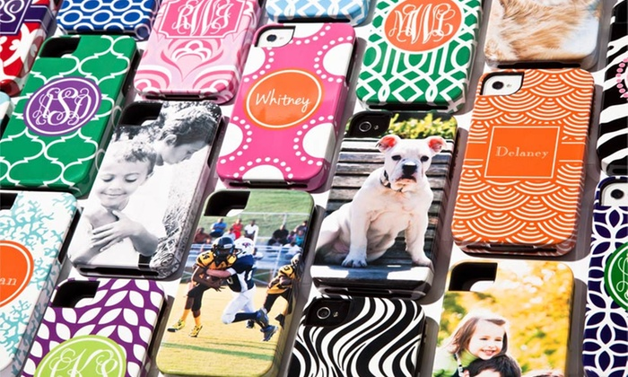 Personalized Device Cases: $19.99 for $45 Worth of Personalized Phone, Tablet, or Laptop Cases from The Case Studio