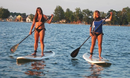Up to 53% Off Stand Up Paddleboarding  at SUP 101 Lakes
