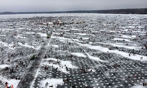 Brainerd Jaycees $150,000 Ice Fishing Extravaganza: $65 for Admission for Two to Brainerd Jaycees Ice Fishing Extravaganza on January 23, 2016 ($100 Value)