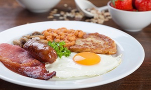 The Maltsters: English Breakfast for Two or Four at The Maltsters